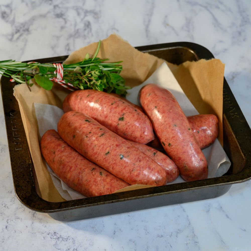 Organic Sausages - Pork and Leek (Gluten Free)